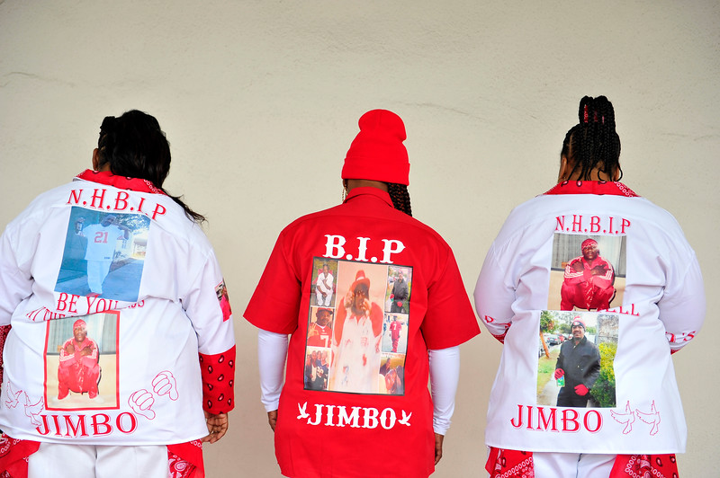 JIMBO (JAMES CHAMBERS) WAS LAID TO REST ON DECEMBER 7, 2019.THE SERVICE WS HELD IN GRAND STYLE AT THE ANGELUS FUNERAL HOME ON CRENSHAW, AND ARRIVED AT ROSEDALE CEMETARY ON WASHINGTON & NORMANDIE IN LOS ANGELES CALIFORNIA. PHOTOS BY VALERIE GOODLOE