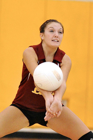 9.22.11 - NB Lady Lions Volleyball vs. Knoch HS