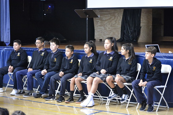 Student of the Month Assemblies