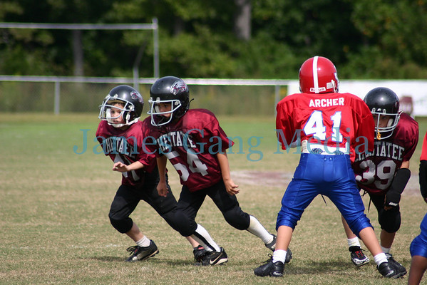 7yo Jr. War Eagles vs Jefferson - Sept. 30, 2006