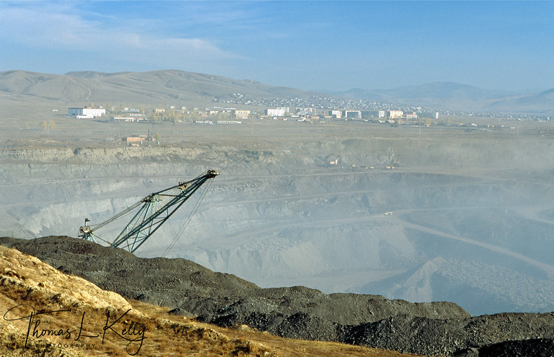 Coal Mine, Sarangol Valley, 200 KMs Northwest of the Capital city Ulan Bator, Mongolia.