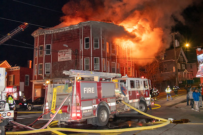 East Main St. 2nd Alarm (Waterbury, CT) 2/21/20