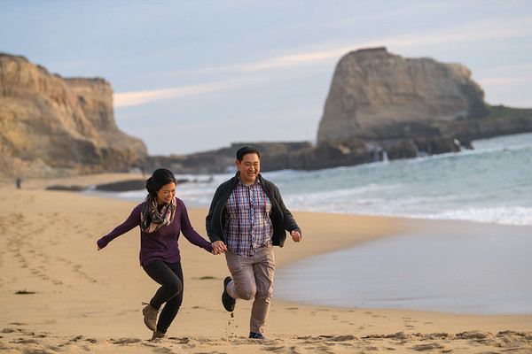 Kelly and Patrick @ Panther Beach, Santa Cruz
