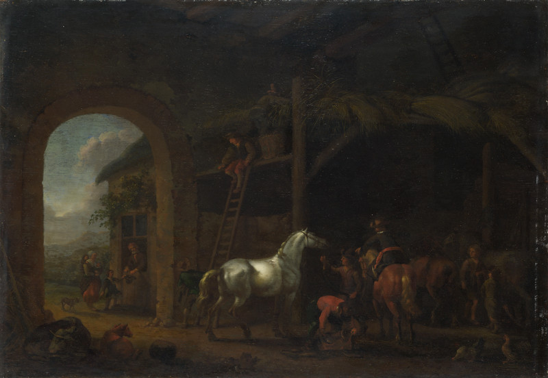 The Interior of a Stable