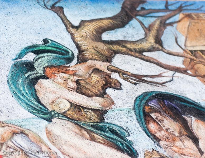 The Flood detail - Genna Panzarella, artist
