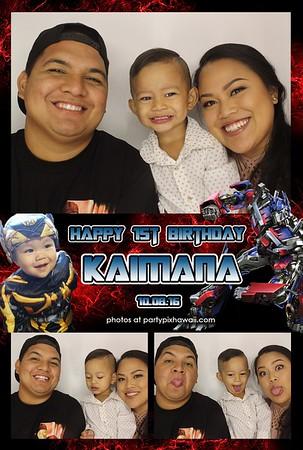 Kaimana's 1st Birthday (Luxury Photo Booth)