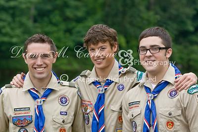 Eagle Scouts x 3