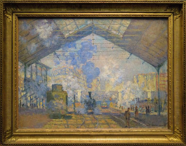 Claude Monet, The Saint-Lazare Station 1877