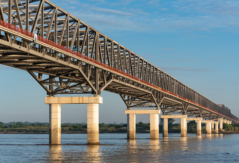Pakokku Bridge, Myanmar