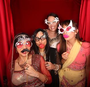 Rehana's Mehndi Night Photobooth Photos