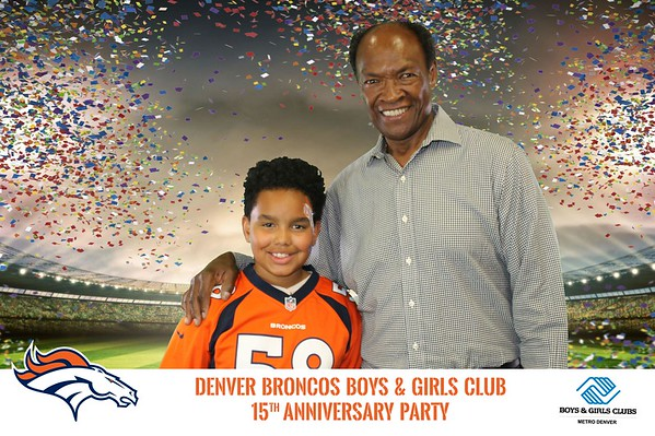 Denver Broncos Boys & Girls Club 15th Anniversary Celebration