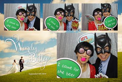 Wendy & Billy Wedding 6th Sep 2014