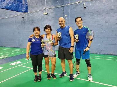Garden State Badminton Club Summer Tournament 2020
