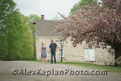 Engagement Session at the Waterloo Village in Stanhope,, New Jersey