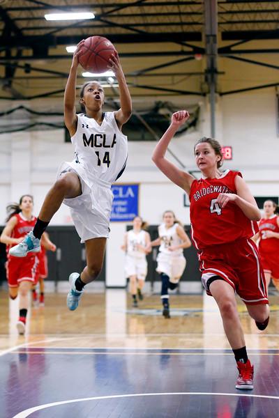MCLA Womens Basketball vs Bridgewater State-010815