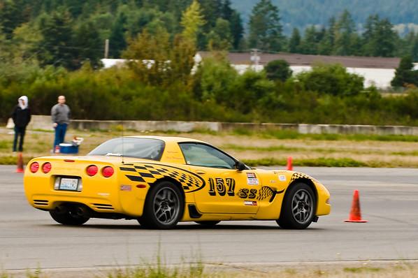 BSCC Auto-X @ Bremerton 10-18-09