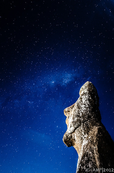 Moai & the Milky Way