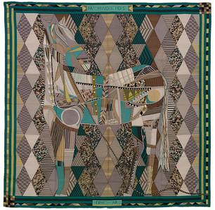 Patchwork Horse - CS140 - Gris vert Jaune - NWOCT -  1611191925