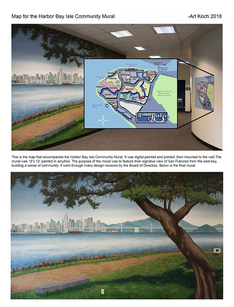 Harbor Bay Isle Community Mural