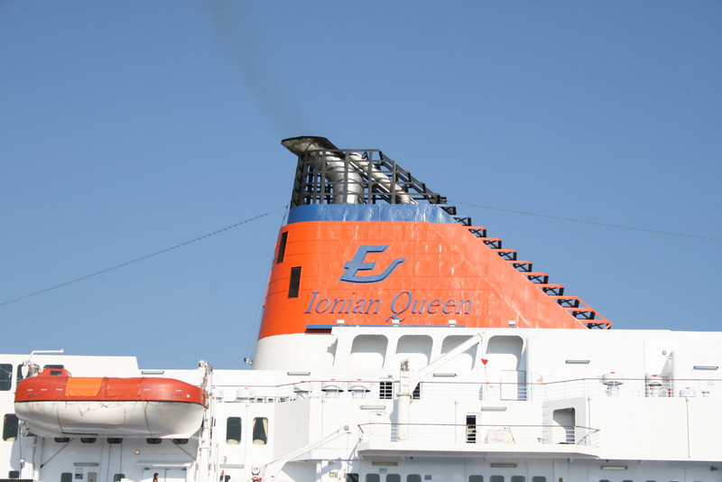 2010 - F/B IONIAN QUEEN : the funnel.