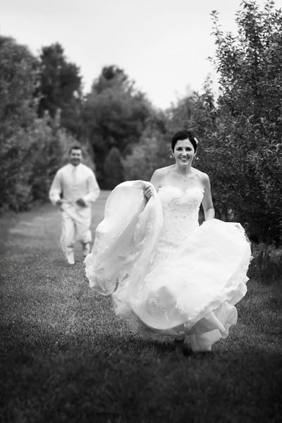 Alyeska Kochanek & Richard Martinez Wedding Day - Portrait County Line Orchard - Hobart, Indiana