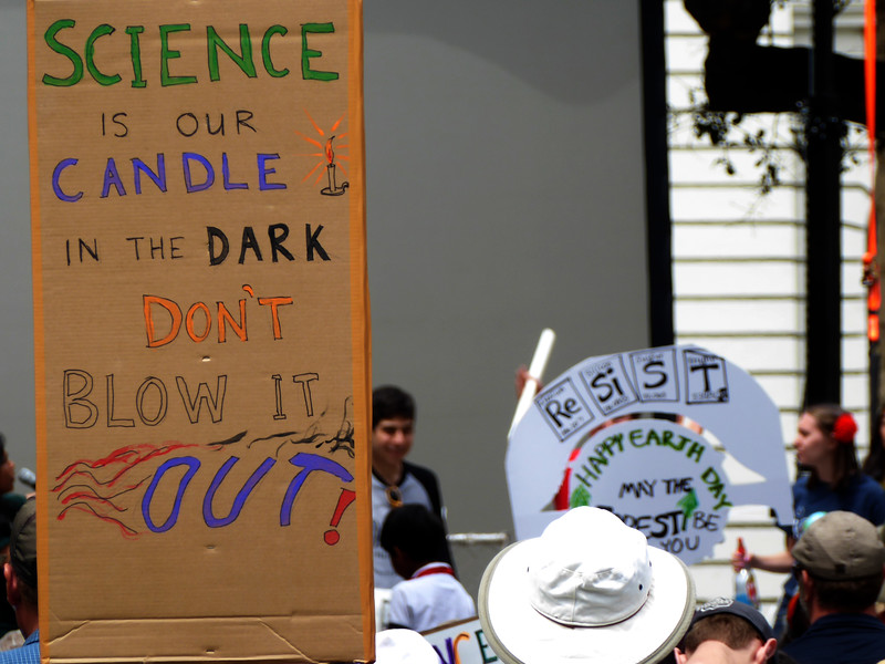 Science Is Our Candle In the Dark