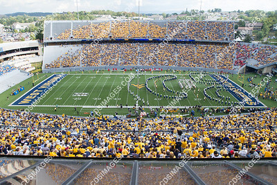WVU vs Maryland - September 22, 2012 - Pregame