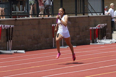4x100M Relay Girls Gallery 2 - 2021 MHSAA LP T&F Finals - DIVISION ONE
