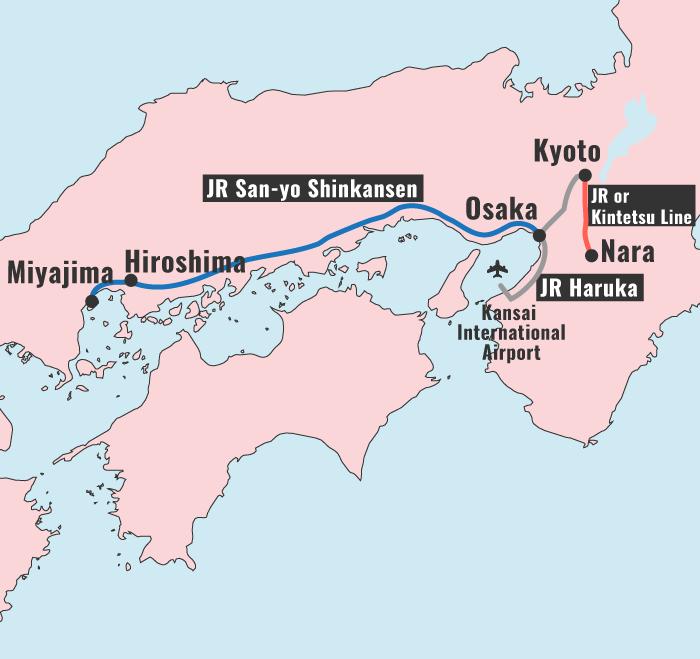Japan Itinerary: Kyoto, Nara, Osaka and Hiroshima
