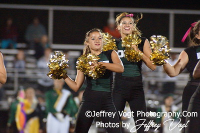 10-05-2012 Damascus HS Cheerleading & Poms, Photos by Jeffrey Vogt Photography