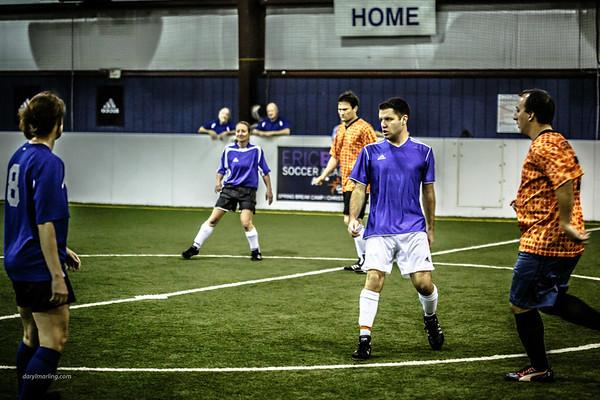 20130310 Warriors Indoor O30 Coed Soccer