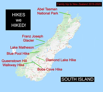 Maps of the HIKES we HIKED