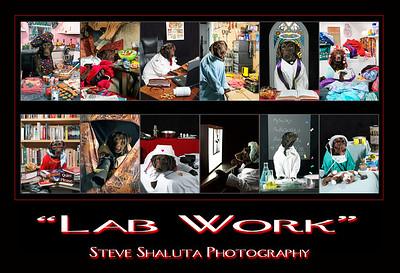 """LAB WORK"" - Working like a dog"