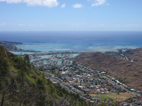 Mariners Ridge Hike Oahu Hawaii 10.12.11