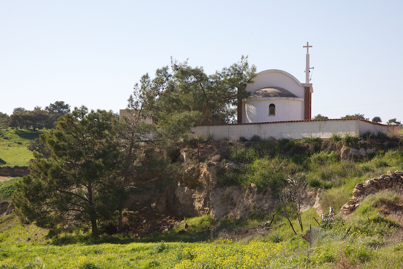 Another little chapel in Pissouri village