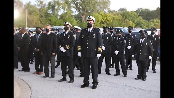 South Holland Fire Department Funeral Service For Firefighter Paramedic Dylan Cunningham ( Video )