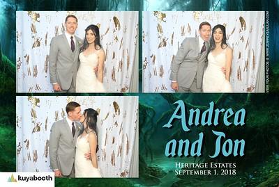 Andrea + Jon  - Photo Booth