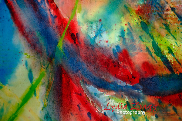 Rainbow Abstraction by Lydia Dagg, #2469