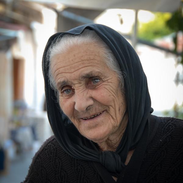 Elderly Lady, Cyprus