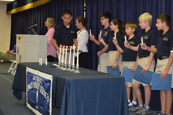 NJHS Induction Ceremony 2016