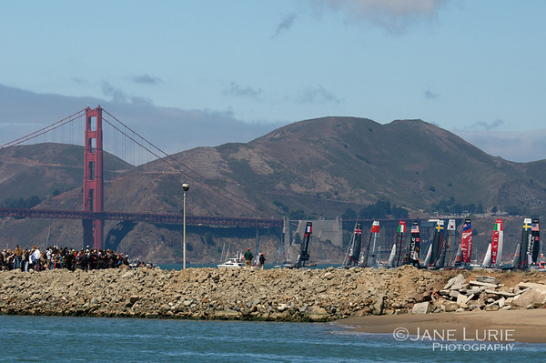 America's Cup San Francisco 2012 and 2013