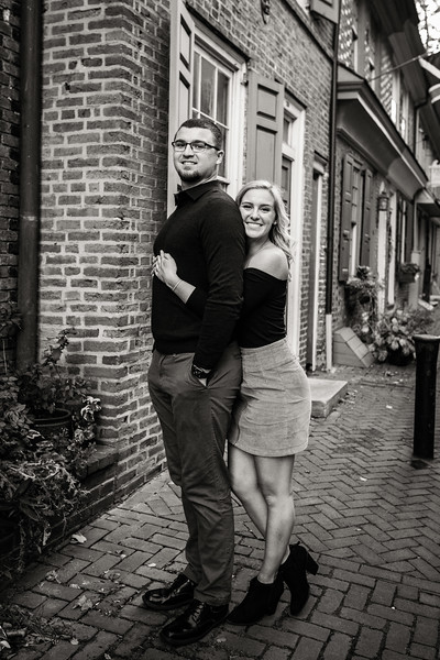 MICHELLE AND NICK - OLD CITY ENGAGEMENT SESSION - 34.jpg
