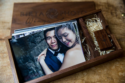 Wedding wooden box