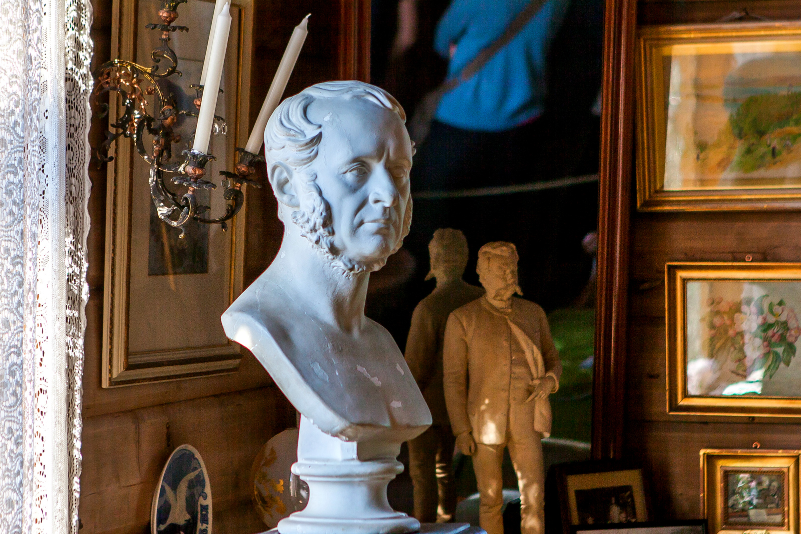 挪威作曲家愛德華-格里格,故居陳設