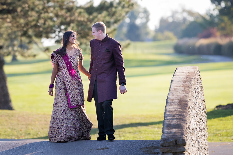 Sangita & Adam at Lexington's Marriott Griffin Gate, 10.15.15