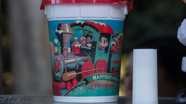 Disneyland Resort, Disneyland, Christmas, Holiday, Holidays, Christmas Time, Popcorn, Bucket
