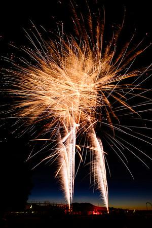 Preston 24th of July Fireworks
