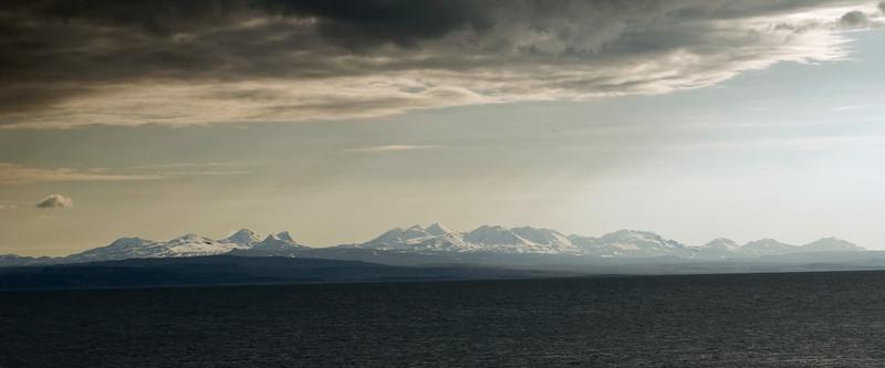 Horft yfir á Snæfellsnes frá Búðardal