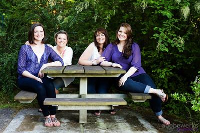 Kim LaFortune & daughters