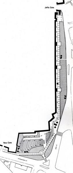 Jaffa Gate Promenade 1973